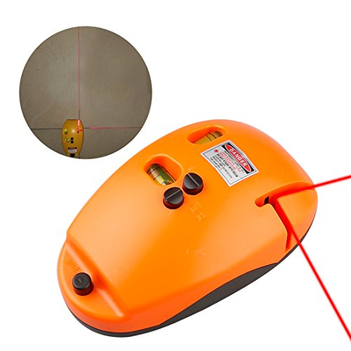 A-SZCXTOP 2-1 Line Laser Level Meter Mouse Type Horizontal Verticalline Maker Device Tool Use to Civil Engineering or Construction FieldHanging Pictures Wall papering Tiling