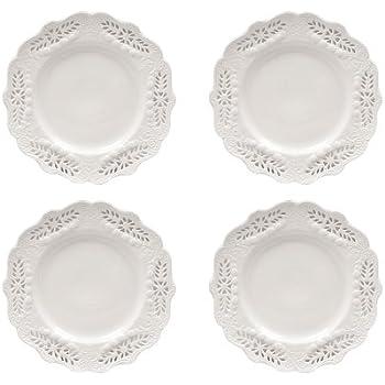 Gracie China Victorian Rose Collection 8-Inch Dessert Plate White Fine Porcelain  sc 1 st  Amazon.com & Amazon.com | Gracie China Victorian Rose Collection 8-Inch Dessert ...