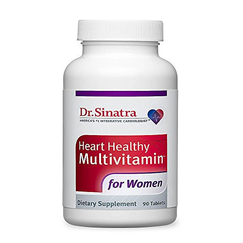 Women Multivitamin 90 Tabs (Dr. Sinatra's Heart Healthy Multivitamin for Women, 90 Tablets (30-Day Supply))