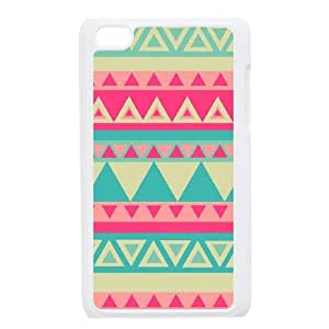 Aztec Tribal Pattern Unique Fashion Printing Phone Case for Ipod Touch 4,personalized cover case ygtg537060