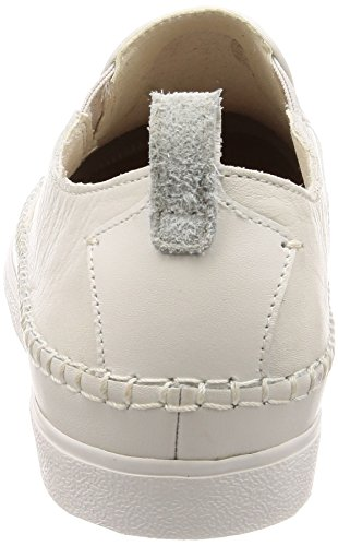 Leather Hombre Para white Blanco Clarks Mocasines Kessell Slip Fwv4qWI0p