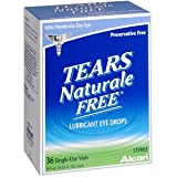 TEARS NATURALE FREE 0.03ML Pack of 36 by ALCON LABORATORIES, INC