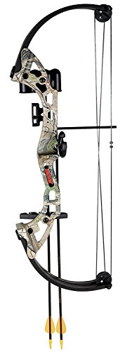 Bear Archery Compound Bow, Brave Youth Set Girls Boys Compou
