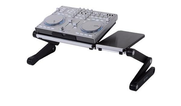 PWR + ® Flextop DJ soporte para portátil mesa escritorio bandeja ...