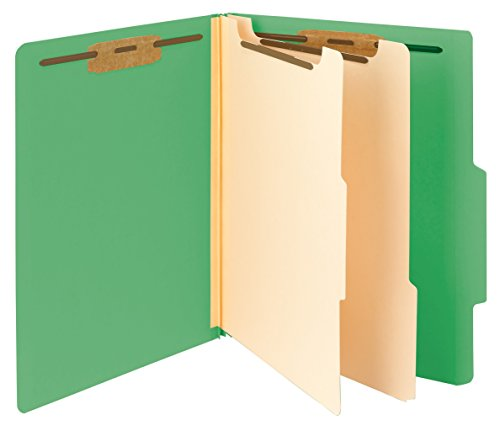 (Smead Classification File Folder, 2 Dividers, 2