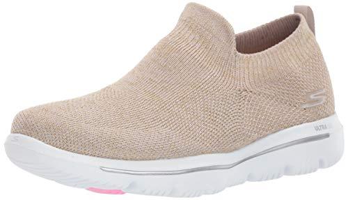 (Skechers Women's GO Walk Evolution ULTRA-15746 Sneaker Taupe 8 M US )