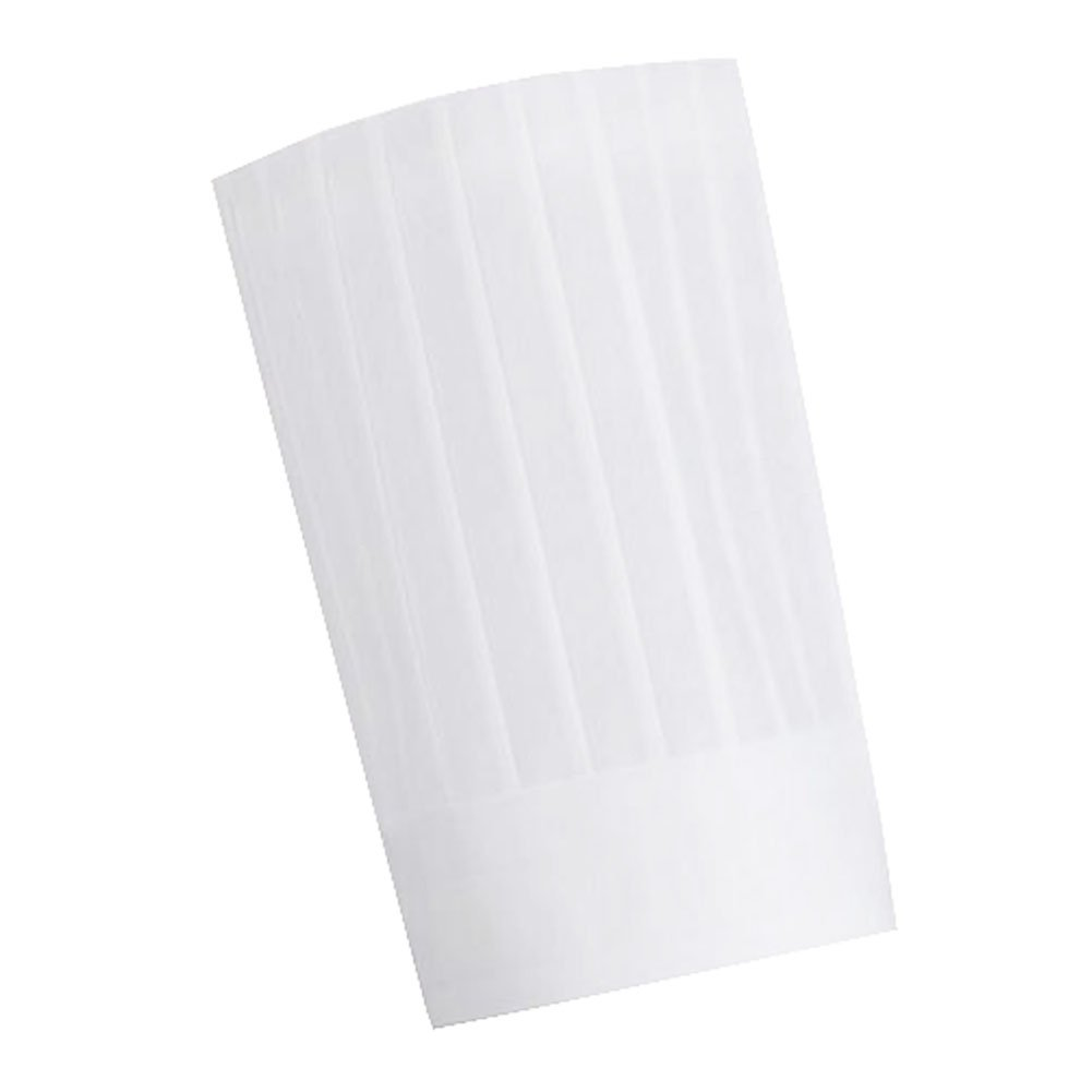 Disposable High Cake Chef Hats Paper Hats 10 PCS-White by George Jimmy