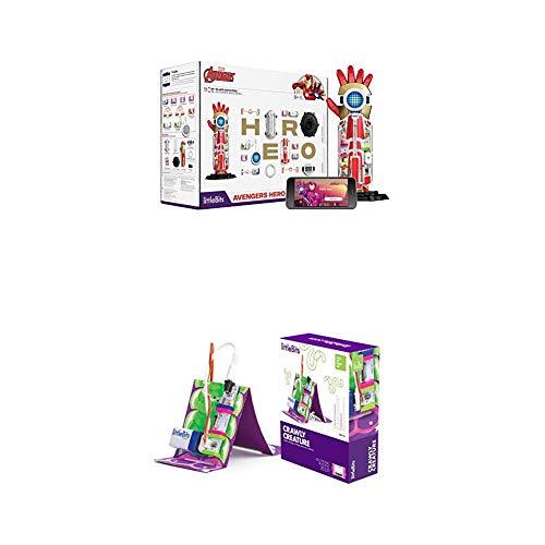 littleBits Marvel Avengers Hero Inventor Kit & littleBits Hall of Fame Crawly Creature Starter Kit