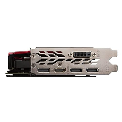 MSI GAMING GeForce GTX 1060 6GB GDRR5 192-bit HDCP Support DirectX 12 Single Fan VR Ready ITX OC Graphics Card GTX 1060 AERO ITX 6G OC Renewed