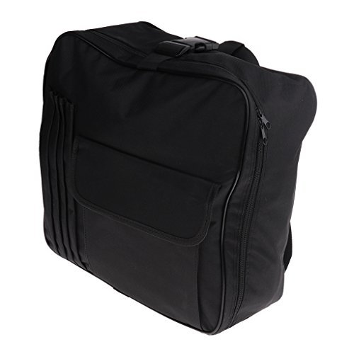 Baoblaze 1x Black Snare Drum Cas Backpack Padded Bag for Musical Instrument - Backpack Snare Padded