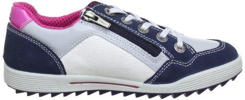 Primigi MURIEL 8748300 - Zapatos de cordones de cuero para niño Azul (Blau (NAVY/PERLA))