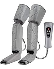 RENPHO Leg Massager for Circulation and Relaxation, Calf Feet Thigh Massage, Sequential Wraps Device with 6 Modes 4 Intensities, Helps to Relax Legs, Gifts for Women Men Mom Dad