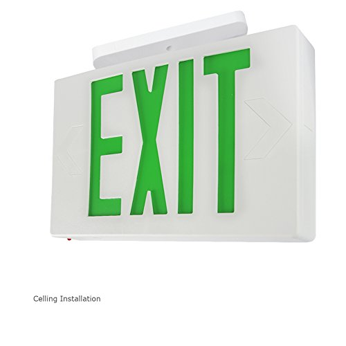 Etoplighting 6 Pack Led Exit Sign Emergency Light