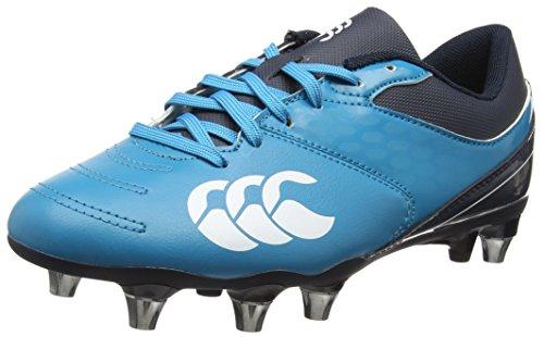 Canterbury Herren Phoenix 2.0 Soft Ground Rugbyschuhe, Blau, 41 EU Türkis (Carribean Sea)