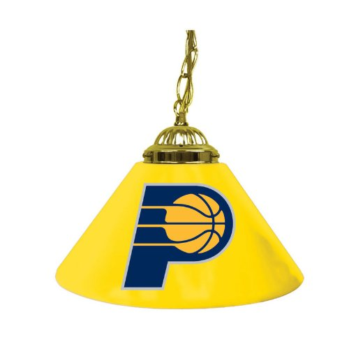 Trademark Global Indiana Pacers NBA 14 in. Single Shade Hanging Lamp by Trademark Global