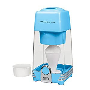 Nostalgia IS2BL Electric Shaved Ice & Snow Cone Maker