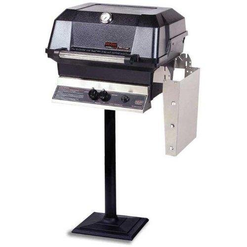 Mhp Gas Grills Jnr4dd Natural Gas Grill W/ Stainless Grids On Bolt Down ()