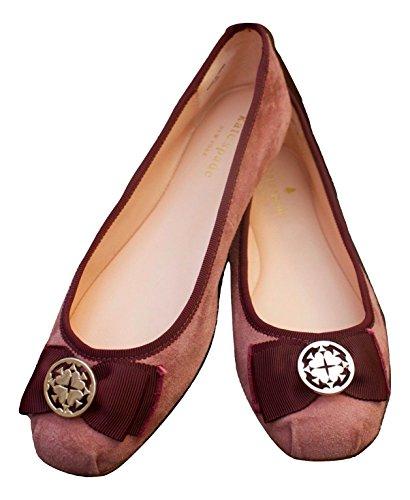 Kate Schoppen New York Fontana Ook Ballet Flat Deep Rose (8)