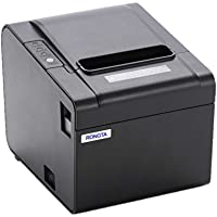 RONGTA RP326US ECO-Friendly Pos Printer, USB (cable incl.), Auto Cutter, Internal Power Supply with Power Cable Incl.