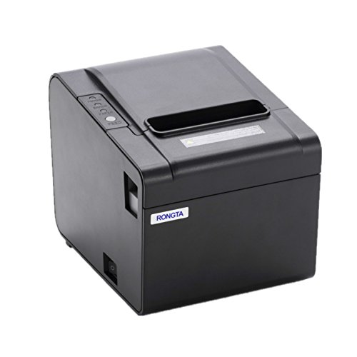 (RONGTA RP326USE 80mm Pos Ptinter USB Serial Ethernet Port Thermal Receipt Printer Thermal Printer)