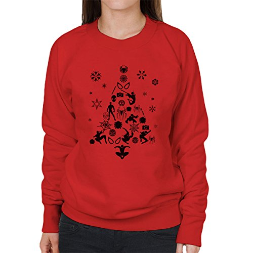 Spiderman Christmas Tree Sweatshirt