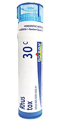 Boiron Homeopathic Medicine Rhus Toxicodendron, 6C Pellets, 80-Count Tubes (Pack of 5)