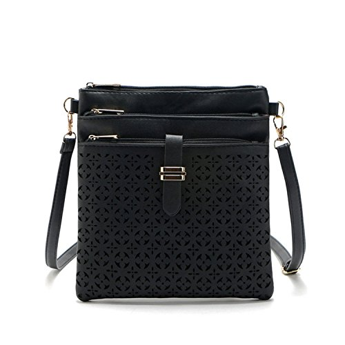 Toping Fine 2016 New fashion shoulder bags handbags women famous brand designer messenger bag crossbody women clutch purse bolsas femininas Chic Black OneOne Size