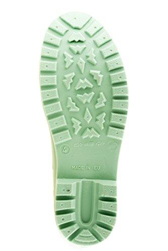 Talla verde Mei Perforado Mujer De 38 color Agua Eu Botas O0wq7ZOA