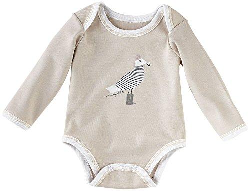 Serena & Lily Wayne Pate Seagull Bodysuit (Baby) - Grey-6-9 Months