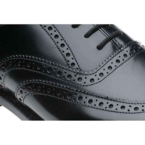 Uomo Herring Nero Black Scarpe Polished 139246807 Stringate Zc4wHTq