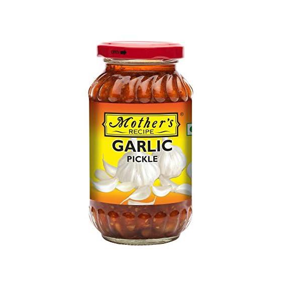 Mothers Recipe Garlic Pickle Bottle, 300 g