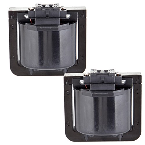 ECCPP Ignition Coils Pack of 2 Compatible with Oldsmobile Chevrolet Pontiac Buick 1987-2002 Replacement for 5C1059