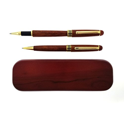 (Gifts Infinity Engraved/Personalized Rosewood 2 Pen Set Free Engraving.)