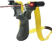 Wrist Rocket Slingshot, Slingshot Professional Hunting Slingshots with Infrared Light Assisted Aiming System H