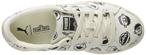 White Little Kid Sesame White Sneaker US Star M Star PS Kids' x Basket 3 PUMA Street qx68a8