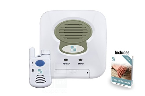 Medical Alert System for Home Emergency- NO MONTHLY FEES - WATER RESISTANT Wireless 2 Way Voice Pendant Help Button - Option AUTO 911 Call - Seniors Response Alarm Life Monitor