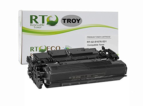 ersal TROY 02-81676-001 HP CF287X 87X MICR Toner Cartridge 18k Yield for TROY HP LaserJet M501, M506, M527 Series (Micr High Yield Laser)