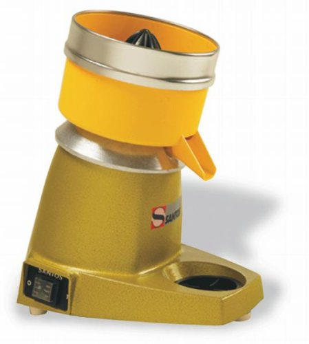Matfer Bourgeat 991077 Green/Yellow Centrifugal Juicer Santos