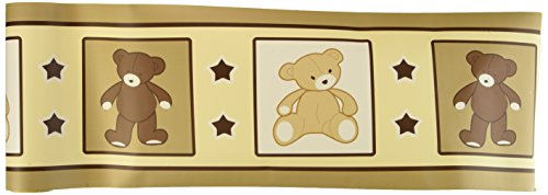 GEENNY Wall Border, Boutique Teddy -