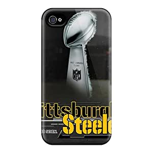 Durable Case For The Iphone 6- Eco-friendly Retail Packaging(pittsburgh Steelers)