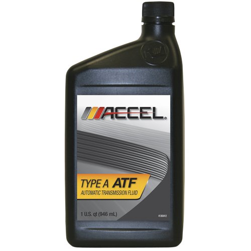 Accel 22800 Type A ATF Automatic Transmission Fluid - 1 Quart, (Pack of 12)