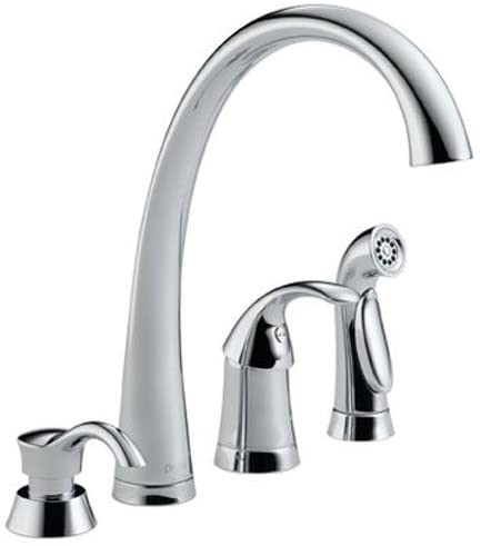 Delta Faucet 4380 Sd Dst 3 00 X 14 00 X 20 00 Inches Chrome Touch On Kitchen Sink Faucets Amazon Com