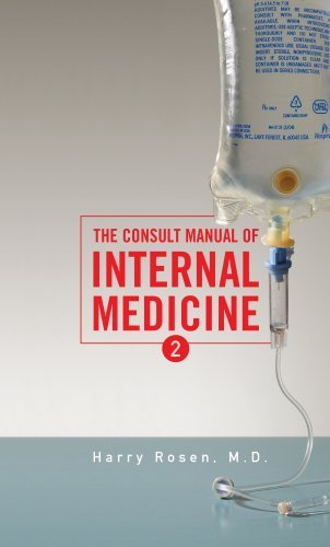 by-harry-rosen-the-consult-manual-of-internal-medicine-second-2nd-edition