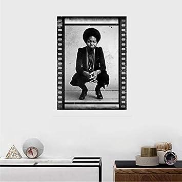 Nina Simone Music Poster wall art home bathroom no frame