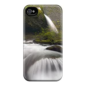High Quality Shock Absorbing Case For Iphone 4/4s-fall To The Rapids