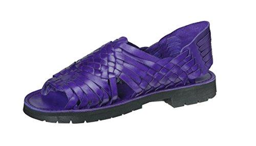 Marca X Huaraches Sandalo In Pelle Pachuco Viola