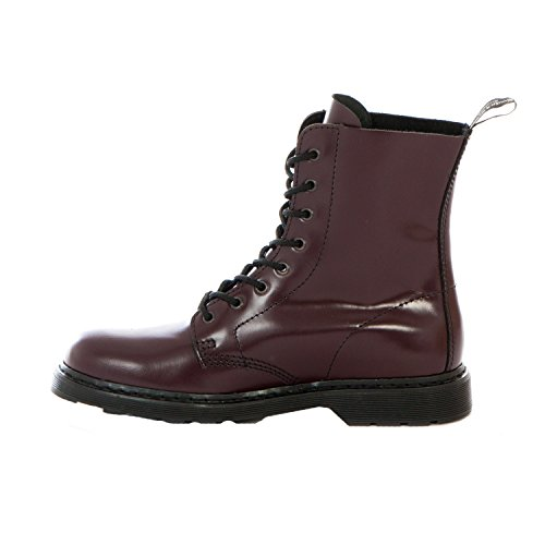 Boots & Braces 8-Loch Schnür-Stiefel Easy Way Cherry Bordeaux