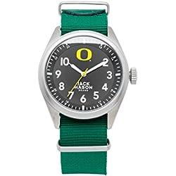 Oregon Ducks Men's Solid NATO Strap Watch