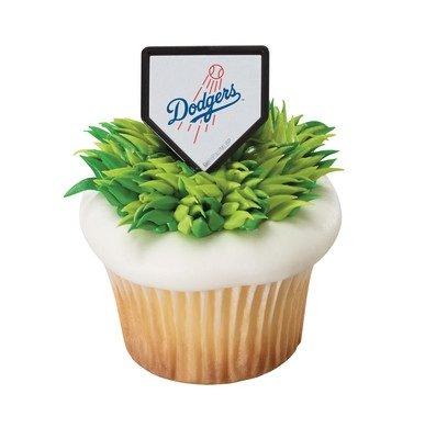 MLB Los Angeles Dodgers Cupcake Rings - 24 -