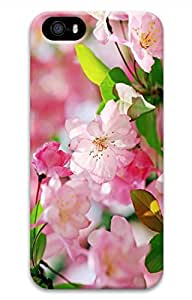 Customized iPhone 4 Case - Popular Romantic Pink Peach Blossoms iPhone 4/4S Hard 3D Case Cover